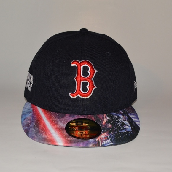brand new e7f7b afaa0 New Era 59Fifty Boston Red Sox Star Wars Cap. NWT